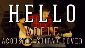 Adele - Hello (fingerstye guitar arrangement by Sietze Bouma) small