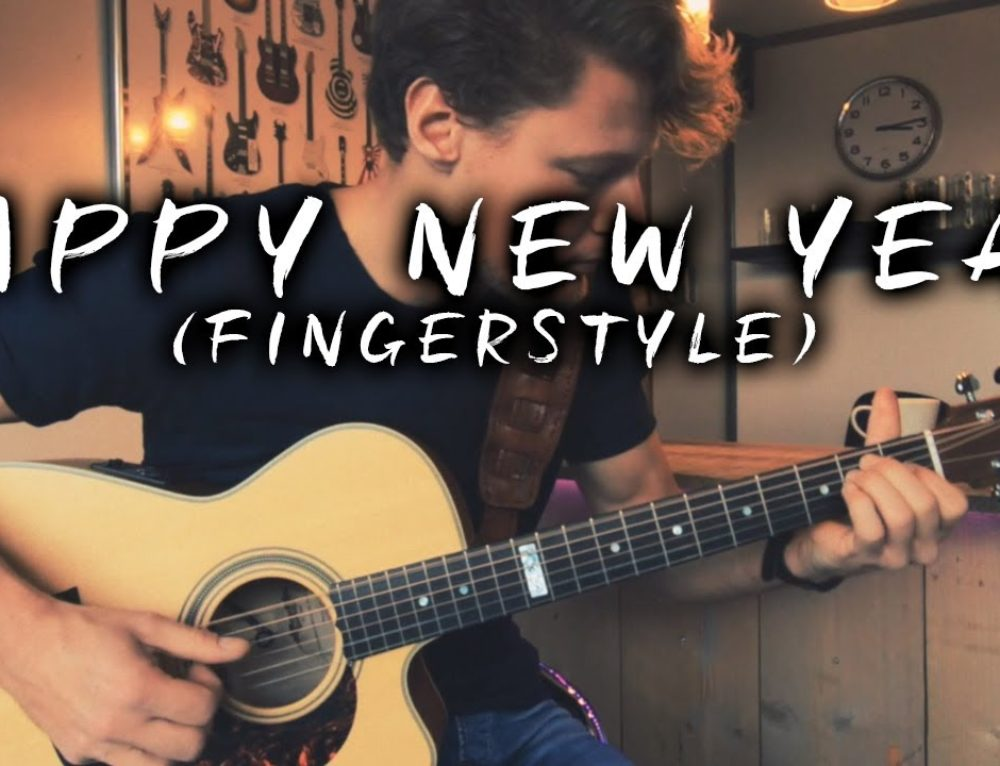 Happy New Year – Fingerstyle arrangement + Tabs!!